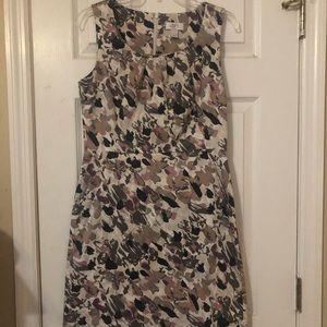 LOFT Floral Print Sheath Dress